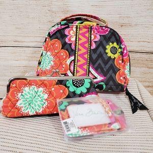 Vera Bradley Ziggy Zinnia Travel Pack Bags Tags